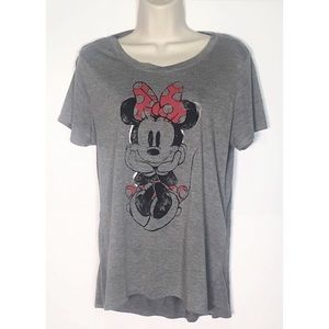 Disney Minnie Mouse Short Sleeve Tee Shirt XL